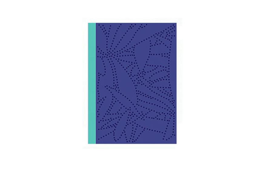 Carnet de note COCOhellein A6 Bleu Marine Mark's