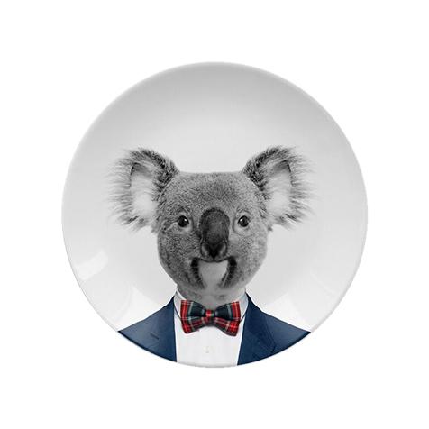 Assiette Wild Dining 18 cm Kyle Koala Just Mustard