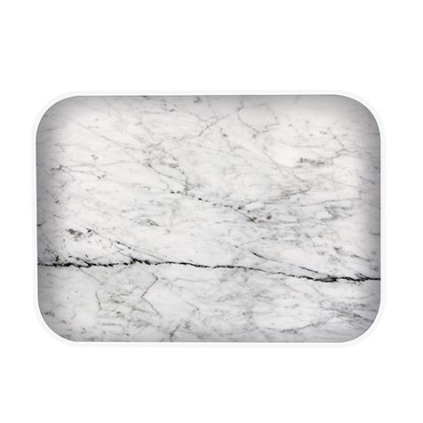 Plateau Osmose marbre blanc Zak Designs