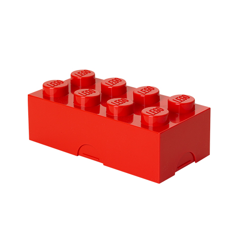 Lunch box rouge Lego