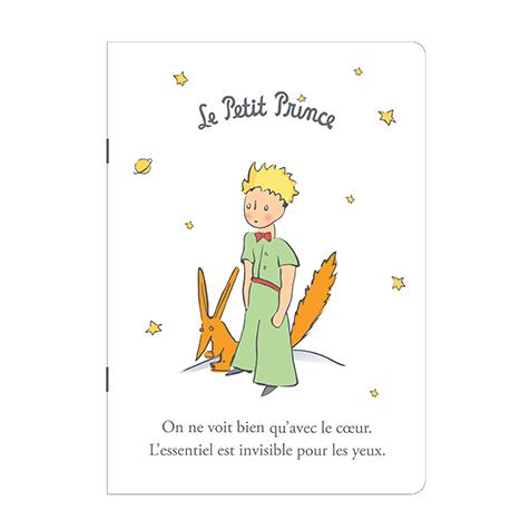 Cahier A5 blanc le Petit Prince Kiub