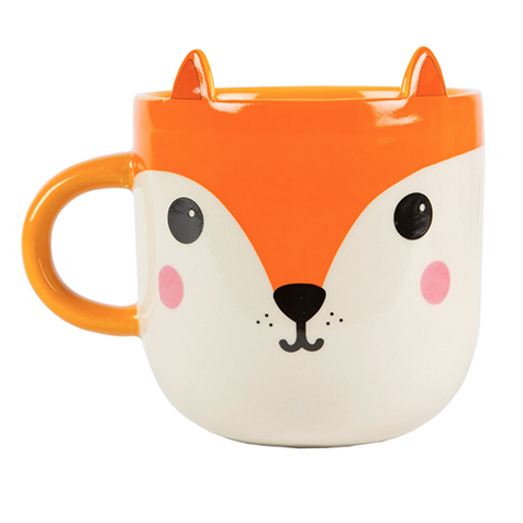 Mug Renard Kawaii Friends Sass & Belle