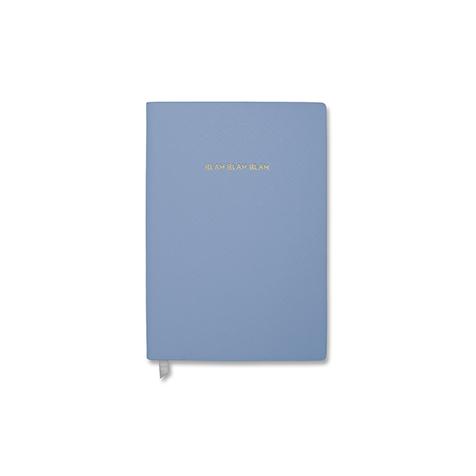 Notebook petit format Blah Blah Blah bleu Katie Loxton