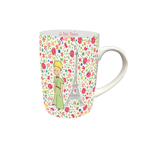 Mug en porcelaine Liberty le Petit Prince à Paris Kiub