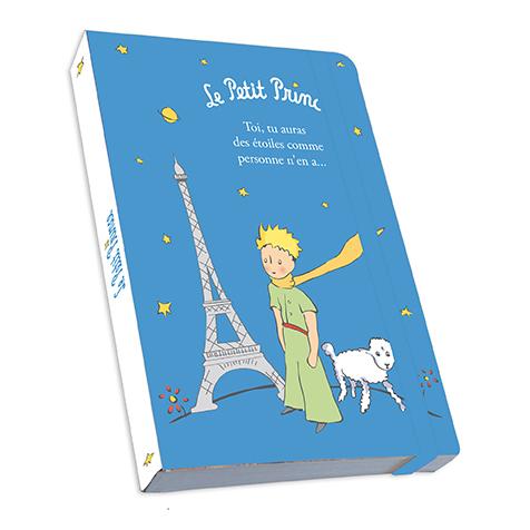 Notebook A5 bleu le Petit Prince Kiub