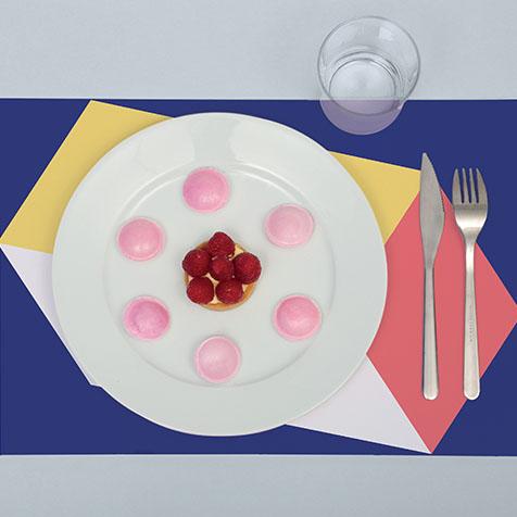 Sets de table à colorier Graphic Omy