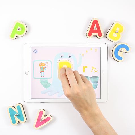 Jeu éducatif pour iPad et tablette Samsung Smart Letters Marbotic