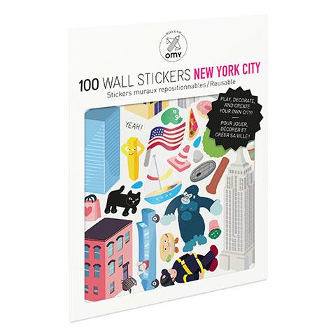 Stickers New York Omy