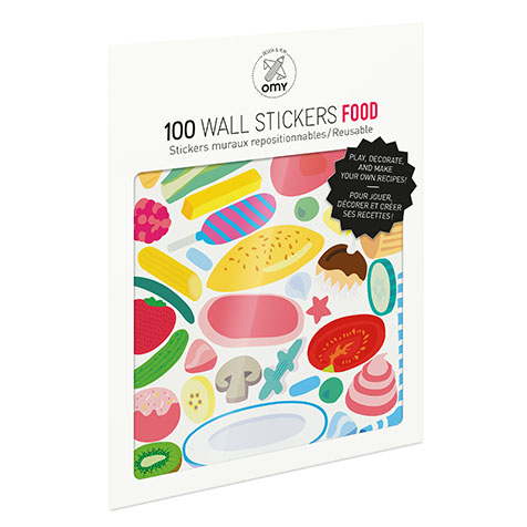 Stickers Food Omy