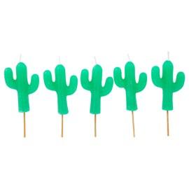 Bougies pour gâteau Cactus Sunny Life