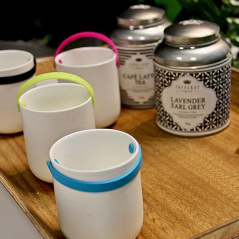 Set de 4 tasses à thé design Cookut