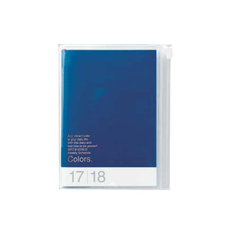 Agenda 2018 Colors A6 bleu Mark's