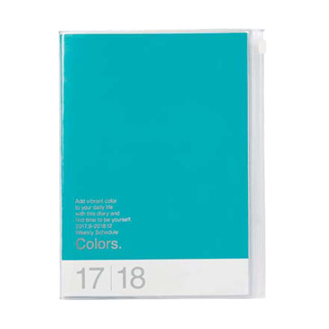 Agenda 2018 Colors A5 turquoise Mark's