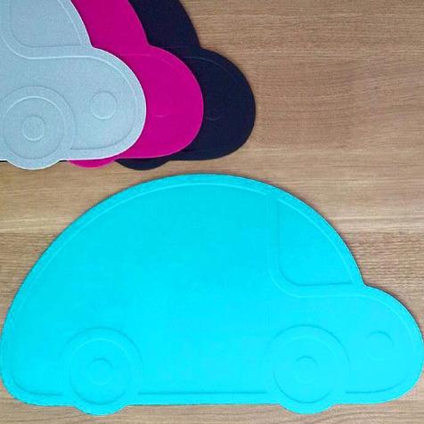 Set de table Voiture bleu KG Design