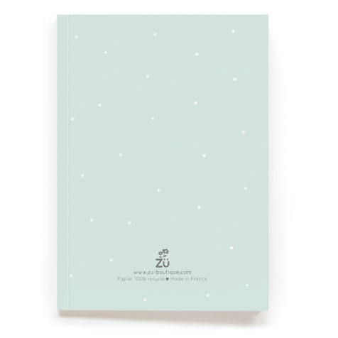Carnet de note Together bleu Zü