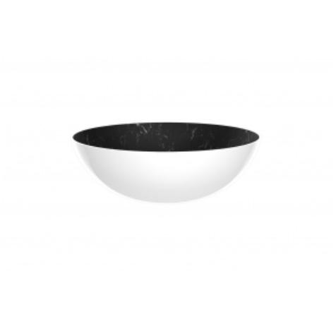 Saladier Osmose marbre noir et blanc Zak Designs