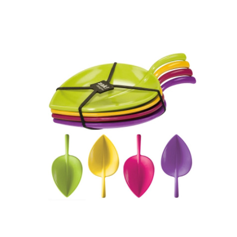 Set de 4 assiettes de dégustation Fulla Zak Designs
