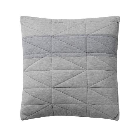 Coussin gris motifs géométriques Bloomingville
