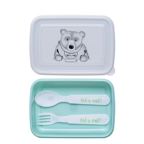 Lunchbox enfant Ours bleu Bloomingville