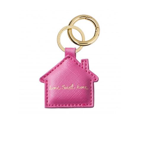 Porte clé maison Home Sweet Home rose Katie Loxton