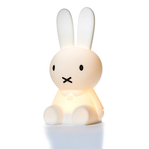 Lampe Miffy Lapin 30 cm first light blanc Mr Maria