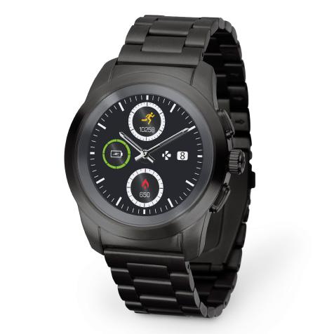 ZeTime Elite regular bracelet métal noir MyKronoz