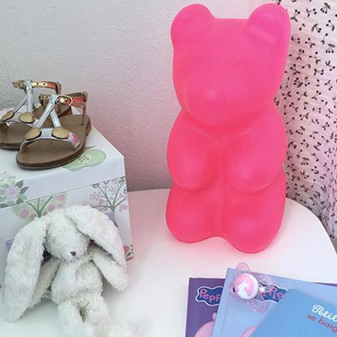 Lampe Jelly Bear Rose Egmont Toys
