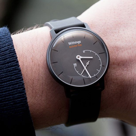 Montre connectée Withings Activité Pop Shark grey