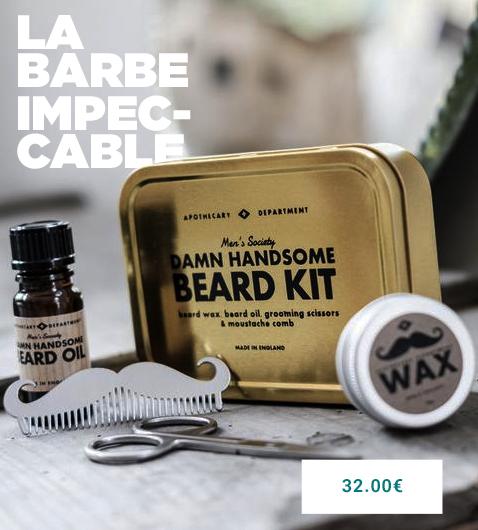 Une barbe impeccable pour 32.00€ que rever de mieux