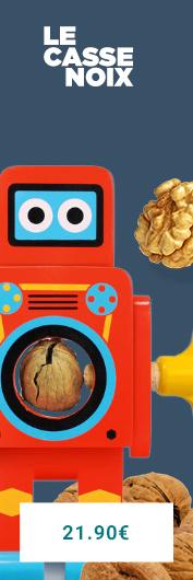 Le casse noix robot, quand les enfants se mettent à la cuisine en s'amusant