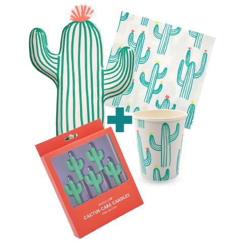 Kit Anniversaire Cactus