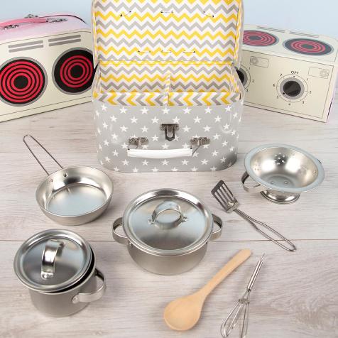 Coffret de cuisine pour enfants Grey Stars Sass & Belle