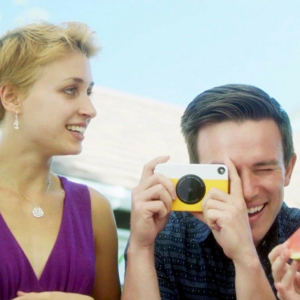Appareil photo instantané Printomatic jaune Kodak