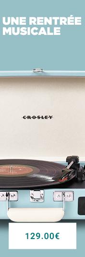 La platine vinyle Crosley Executive marron est de retour sur La Collection, a vous de redécouvrir vos vinyles