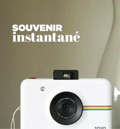 Les appareils photos Polaroid allie la nostalgie du classique Polaroid instantané avec lequel vous avez grandi et le design très contemporain de nos jours.