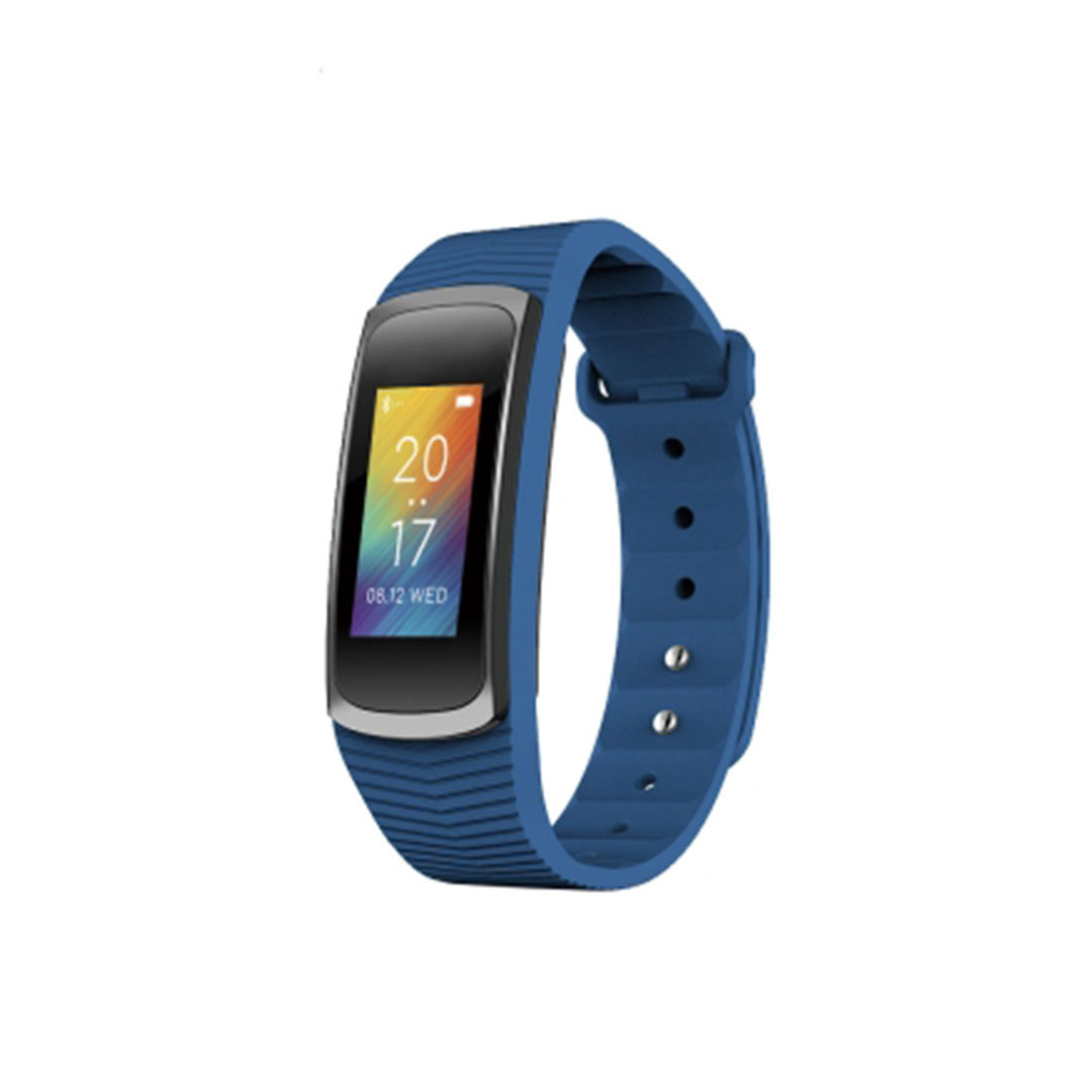 Tracker d'activité Multi Fonctions Abyx Fit HR Bluetooth 4.0 bleu