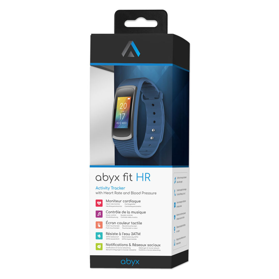 Bracelet Multi Fonctions Fit Bluetooth 4.0 bleu Abyx