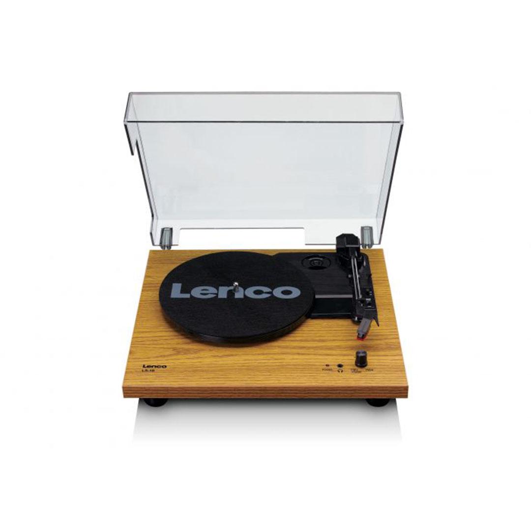 Platine vinyle LS10 bois à haut-parleurs intégrés Lenco