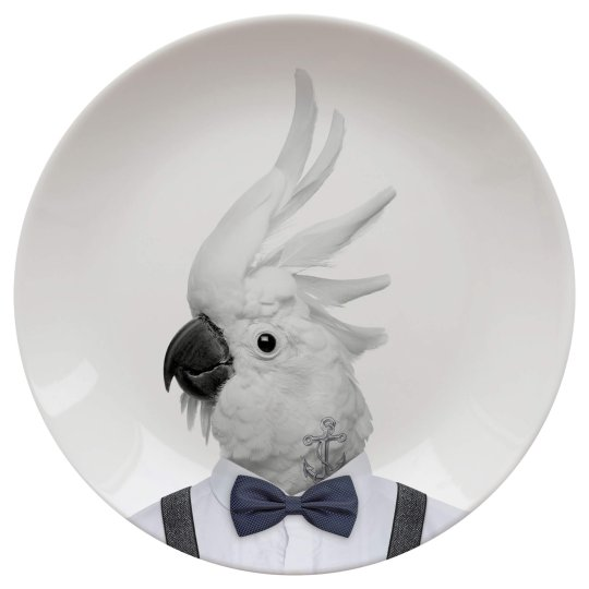 Assiette Wild Dining 23cm Colin Cockatoo Just Mustard