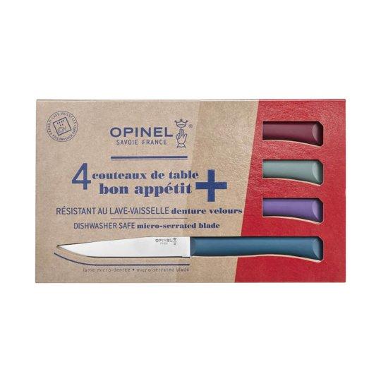 Coffret de 4 couteaux de table OPINEL Glam