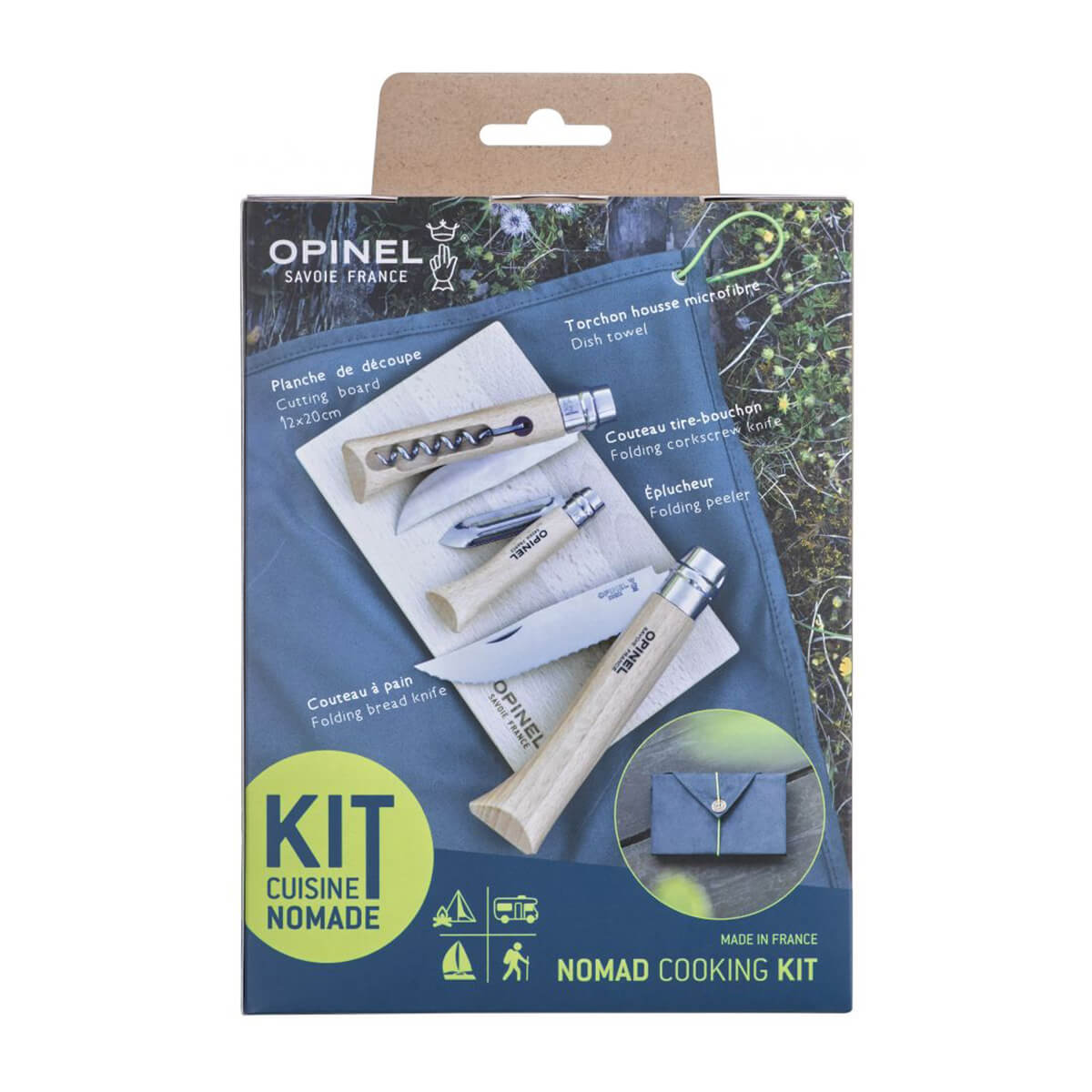Kit de Cuisine Nomade by OPINEL