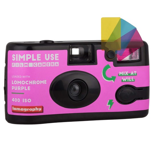 Lomochrome Purple Simple Use Film Camera
