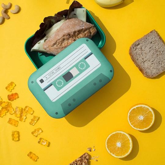 Lunch box K7 Tape by DONKEY