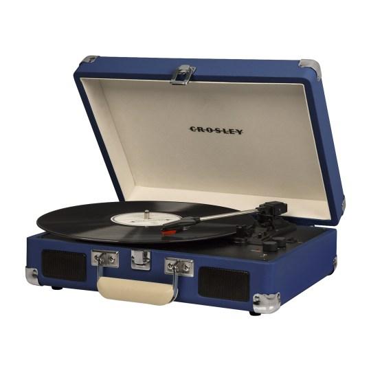 Platine vinyle Crosley Cruiser Deluxe - Coloris Bleu