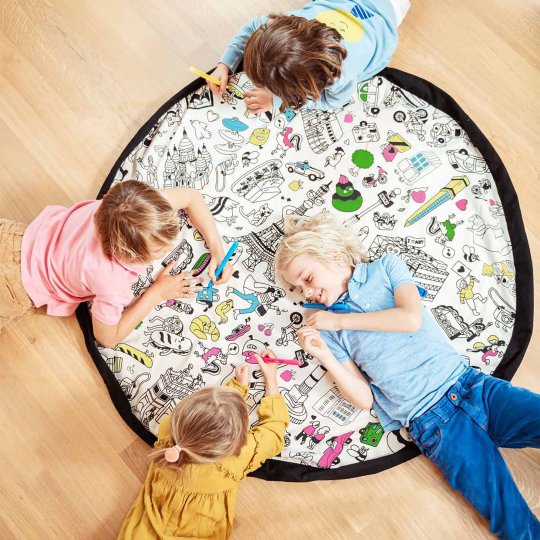 Sac de rangement de jouets à colorier Play'n'Go by OMY - Paris