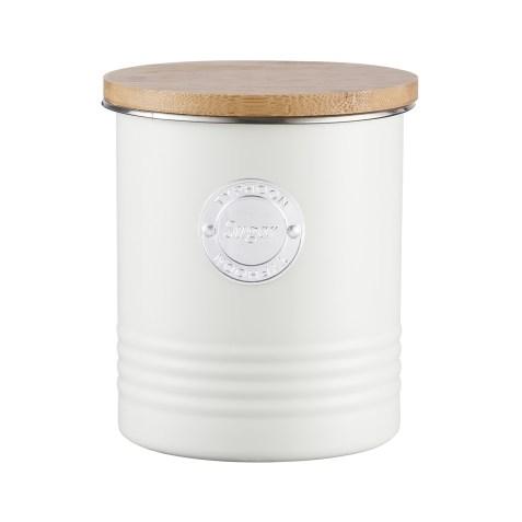 Boîte de conservation pour sucre look vintage – Crème