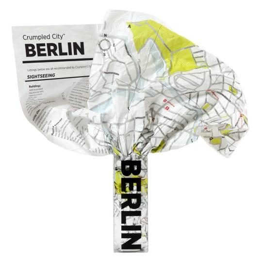 Crumpled City – Berlin par PALOMAR