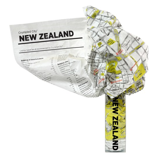 Crumpled City – Nouvelle Zélande par PALOMAR