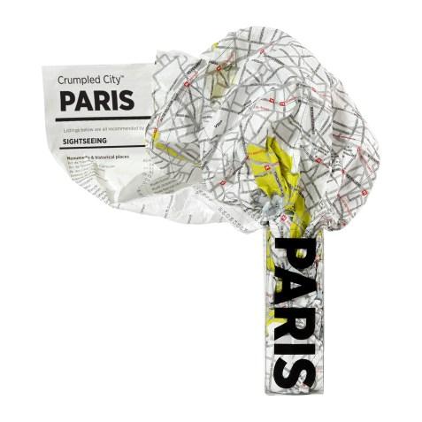 Crumpled City – Paris par PALOMAR