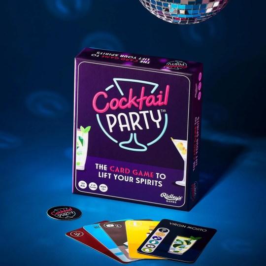 Jeu d'ambiance Cocktail Party